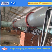 Wood chips /slag/clay/cassava rotary dryer for hot sale