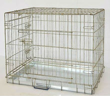 Huanghua fuyuan factory design folding galvanized acrylic pet cage strong cage