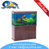 SUNSUN HR Series glass tropical marine fish Aquarium for ornamental fish, with top filtration system