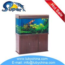 SUNSUN HR Series glass tropical marine fish Aquarium for ornamental fish, with top filtration system