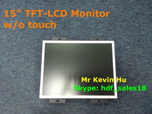 """optional touch screen, wholesale price 15"""" tft lcd industrial monitor for indoor atm and outdoor kiosk terminal"""