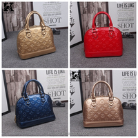 SK-T042 Best selling chain leather handbags tote bad for ladies