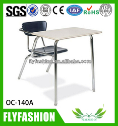 Combo Chair Desks/writing tablet chairs/student chairs with tablet