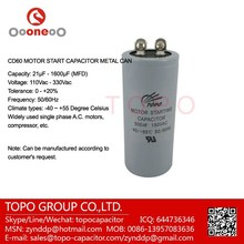 super capacitor & Aluminum electrolytic capacitor 500uf 330V CD60