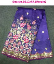 George Lace For Nigeria Asoebi Dress Curious George Cotton Fabric Indian Fabrics Sale