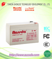 VRLA 12V 7AH Sealed lead acid storage battery for light
