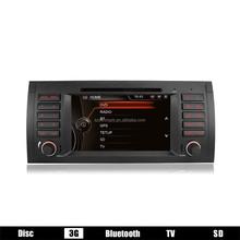 Windows Car Radio for BMW E39 with 3G/GPS/Bluetooth/TV/Radio/USB/SD/IPOD/Steering wheel control DJ7061