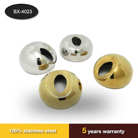stainless steel Cover handrail fittings for stair pipe