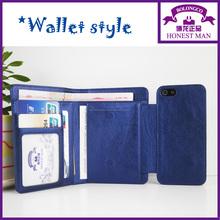 nova vinda da carteira de caso de telefone celular para nokia x2 telefone caso