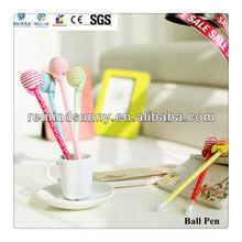 Promotional Plastic Colored Lollipop Ballpoint Pen