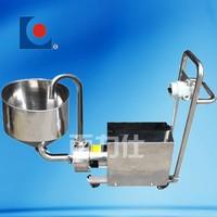 mobile high shear emulsifying pump with hopper