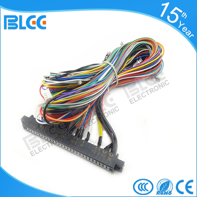 Wire Harness Assembly Equipment : P arcade machine custom jamma wire harness assembly