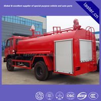 Fire Fighting Water Truck; Simple water tanker fire fighting truck