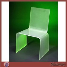 Milky Perspex Acrylic Personalized Floor Chair