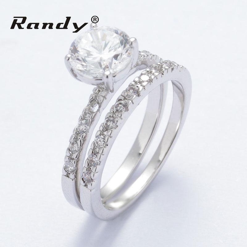 Couple Engagement Ring Zirconia Antique Wedding Ring Sets - Buy Wedding Ring SetsWestern ...