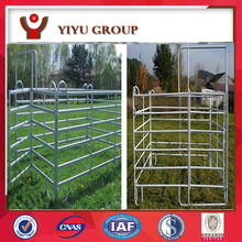 Galvanized steel dairy yard
