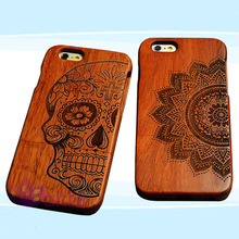 wood cover case/Custom design mobile phone cover for iPhone 6 for iPhone 6 plus