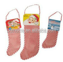 Felt decoration christmas stocking