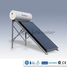 150L high quality no pressure flat panel energy saving solar water heater made in China