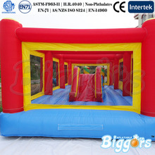 Inflatable Combo Games With Slide And Climbing Walls For Sale