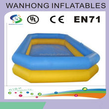 Water playing inflatable promotional products inflatable pool float for summer, inflatable water swimming pool for playing