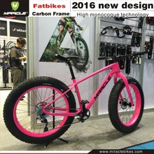 Chinese Carbon Fatbike Frame,26er Newest Carbon Competed Material 190 UD Matte or Glossy Finished