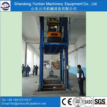 Hydraulic vertical lift/ wall mounted lift platform for sale
