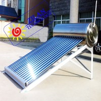 Stainless steel household solar water heater calentador de agua solar China