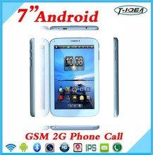 "7"" 2G GSM Phone Call Tablet Pc With Camera Wifi Super Smart Android Phone Tablet Pc"