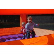 2014 pvc cheap commercial inflatable superstar bounce house for sale