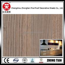 0.7mm texture glossy laminate wood hpl board