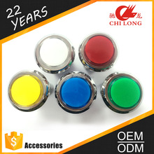 New products mini led light push button for arcade games