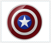 Original QI Wireless Charger For Samsung Galaxy S6/S6 Edge G9200 G920F G9250 G925F Captain America Shield Charging Pad