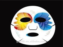 Impresso máscara facial / animal folha de máscara facial