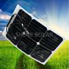 hot sale! sunpower fexible solar panels 25w factory in shenzhen