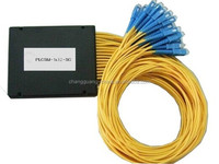 1x2 250um Bare Fiber steel tube type mini size fiber optic plc splitter