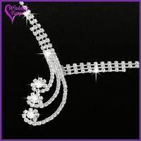 High Quality Latest Style Crystal pakistani gold jewelry sets