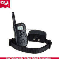 Remote Control Dog Training Collar with LCD Display private label acceptable