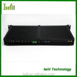 Iwill IBOX-D2550F mini itx 1u fanless industrial computer case
