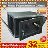 wall mounted folding network attached storage cabinet