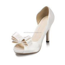 2016 White Wedding Shoes High Heel Bridal Wedding Shoes For Women Dress Shoes