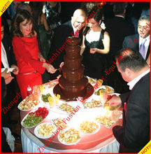 TOP QUALITY large chocolate fountain/chocolate fountain china/chocolate fountain sale