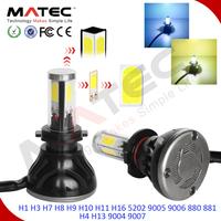 80w 8000lm auto car headlight DIY 3000k 6000k 8000k h7 led g5