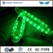 High Quality Customizable LED Glow in the Dark Longboard Skateboard Supplier/Manufacturer