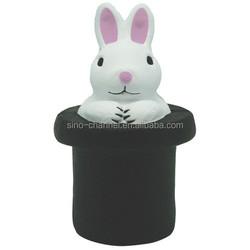 Cute Custom Magic Rabbit Stress Ball