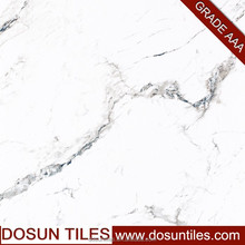 well design, white color, full polished glazed, marble look tile with good price