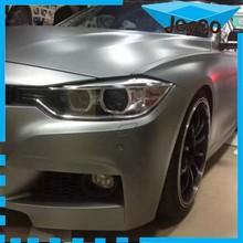 JEYCO VINYL 2015 new silver matte chrome brushed car wrapping film, 3m quality car full body wrap vinyl foil