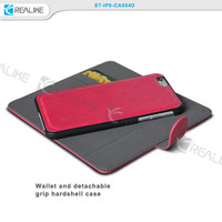 High quality pu leather phone case for iphone 6s, wallet style smartphone case for iphone 6s