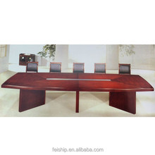 wood conference table wood with aluminum conference table FS0070