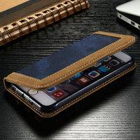 New Arrival CaseMe Wallet Case for iPhone 6s, Jean+pu Leather Case for iPhone 6s, for iPhone 6s Phone Case